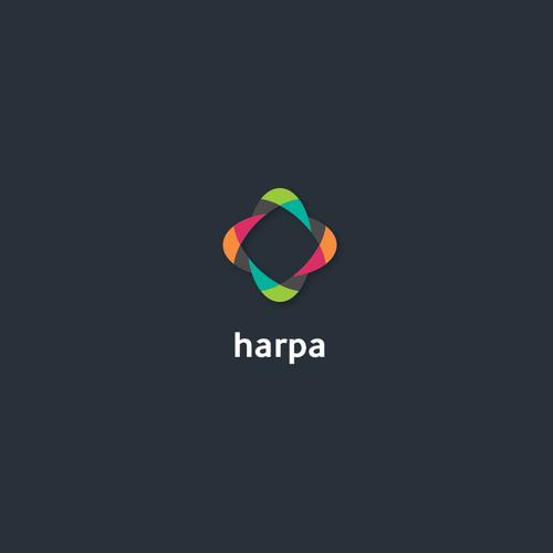 Modern logo for crowdfunding website