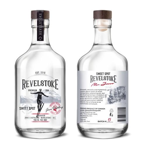 Revelstoke. Distillery needs an iconic premium brand.
