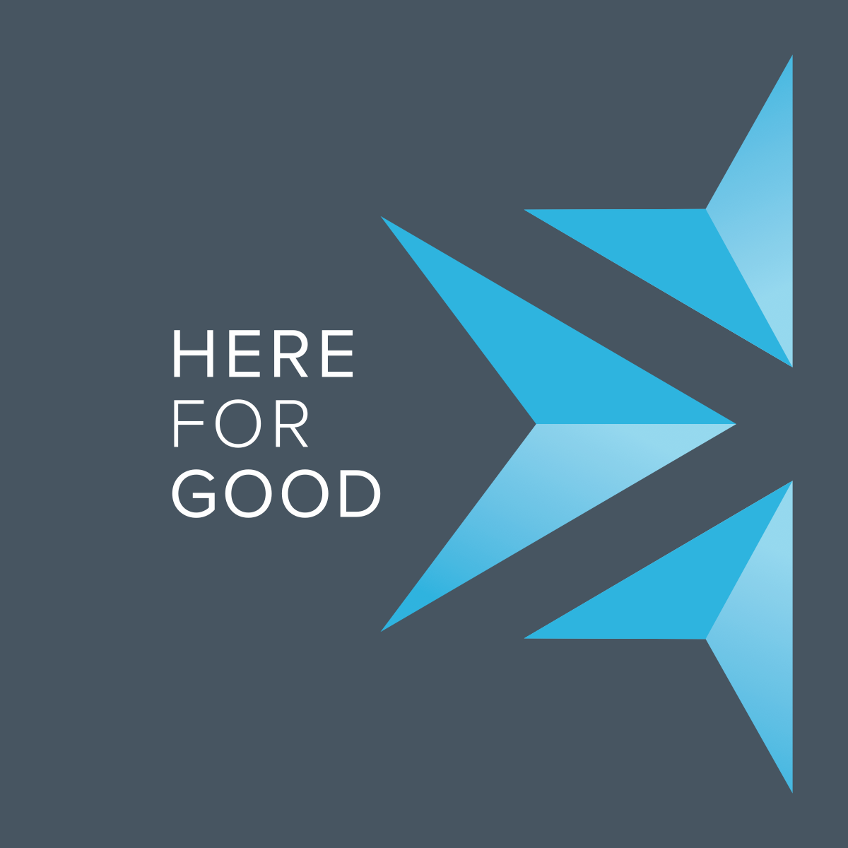 Here for Good: a capital campaign for permanence and community involvement
