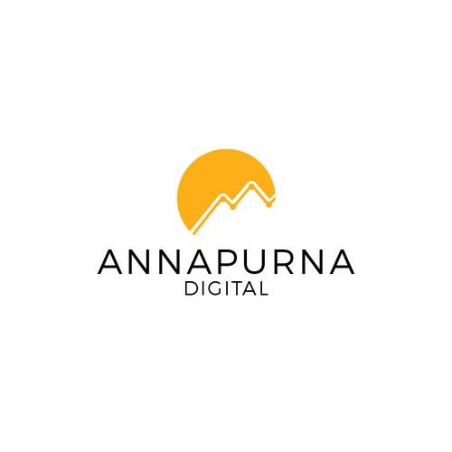 Bold Annapurna Digital logo
