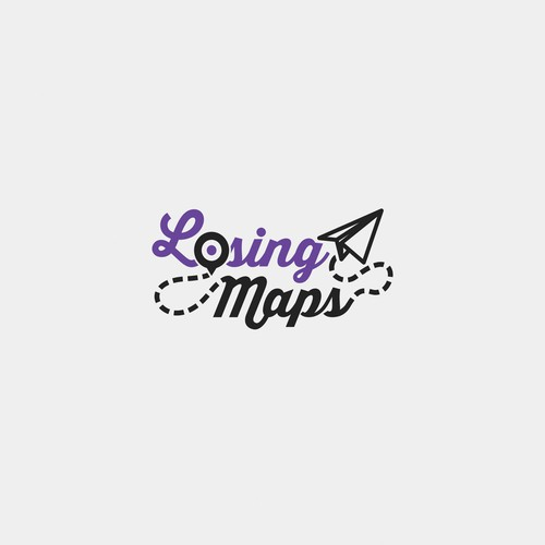 Logo for Losing Maps Blog
