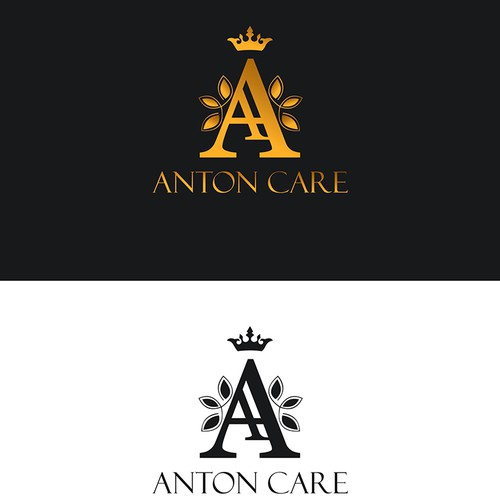 Logo concept for beauty skin care