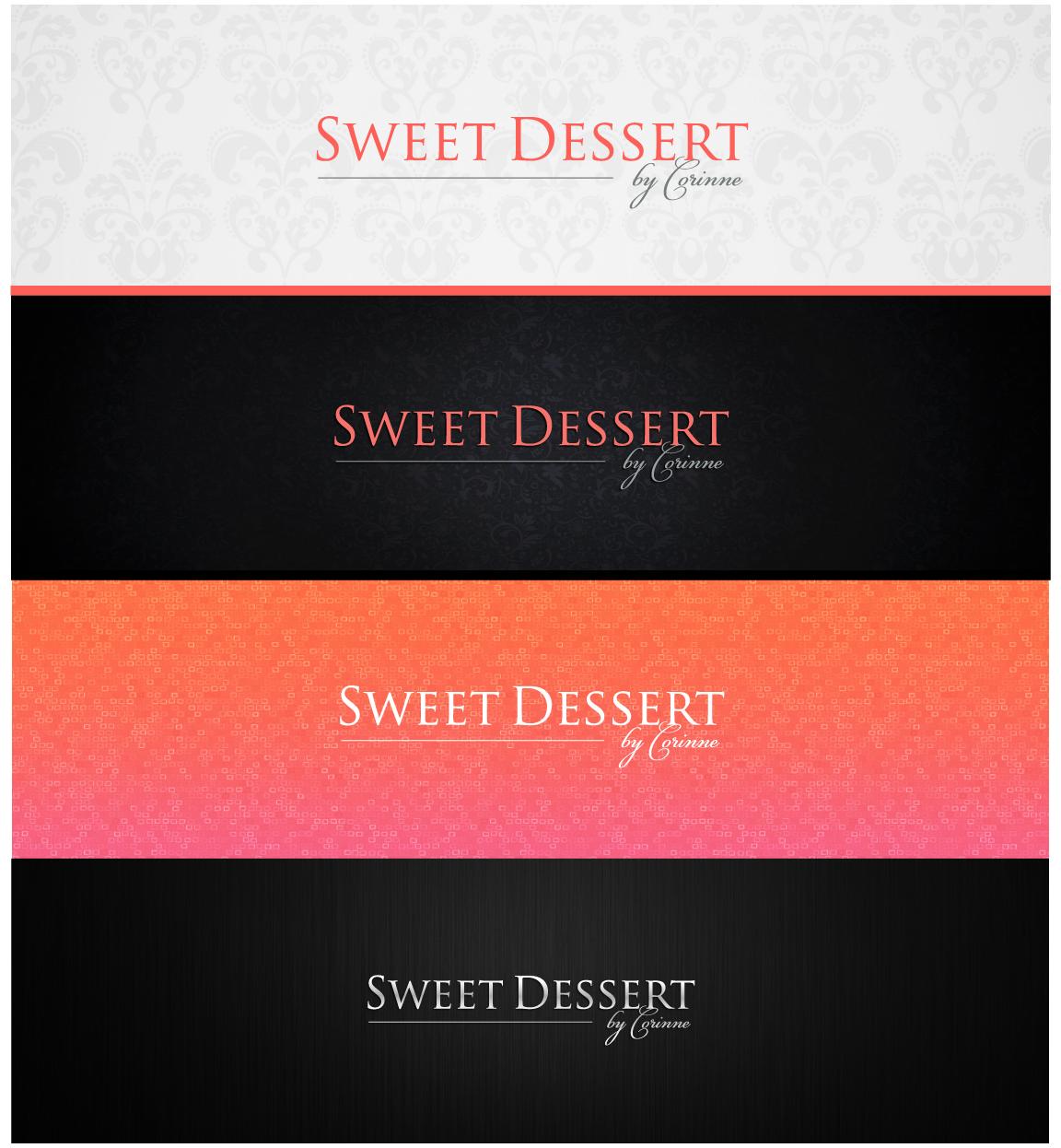Create a logo for Skin Care business Sweet Dessert
