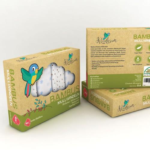 Kleinkram Bamboo Muslin Diapers