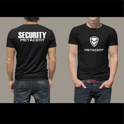 metacert t shirt security