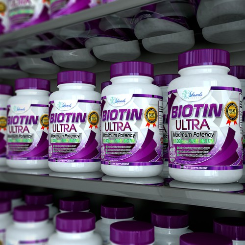 Biotin Label complete redisign and 3D Images