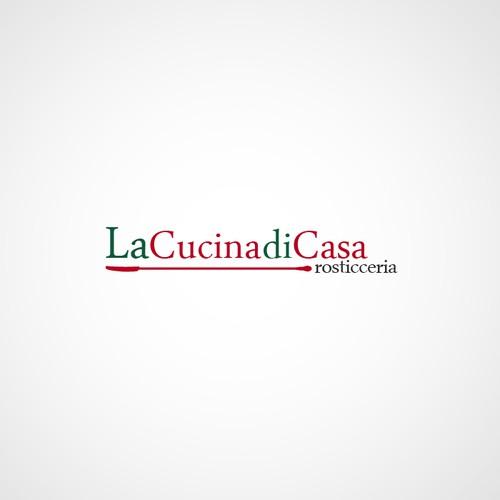 Logo for an Italian Rosticceria and Restaurant