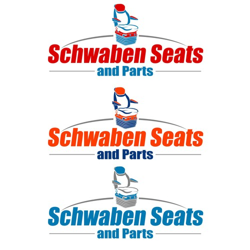 A CREATIVE LOGO FOR A INDUSTRIAL VEHICLE SEAT DEALER