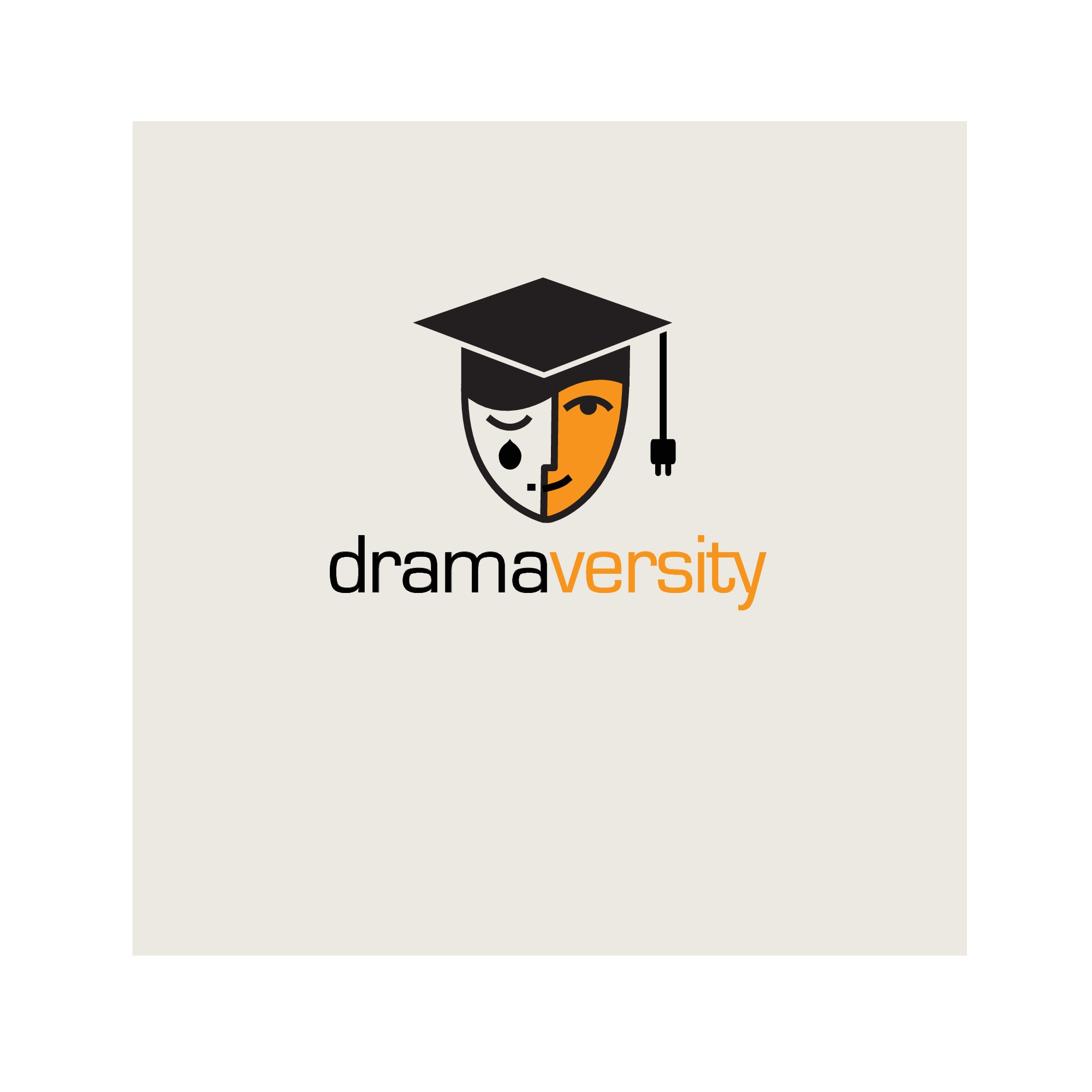 Online Drama Classes. This Company is Needing Polished Logo with a Hint of Fun.