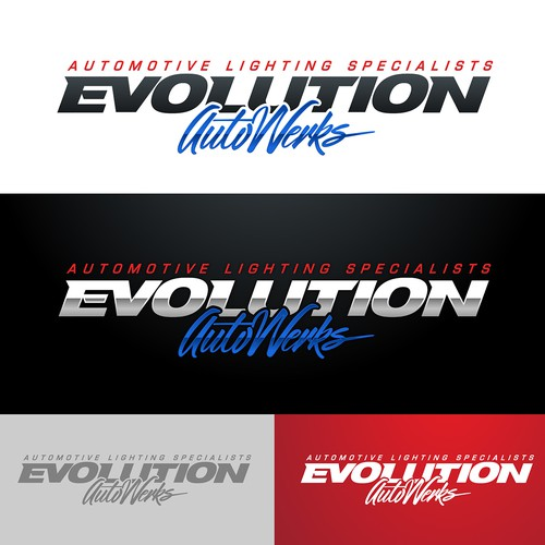 Logo for Evolution Autowerks