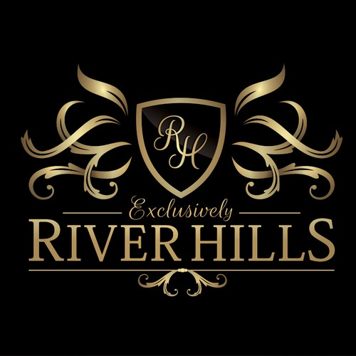 Logo and Website design for Exclusively River Hills