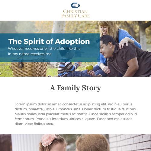 Email Newsletter for ChrisAdoptive