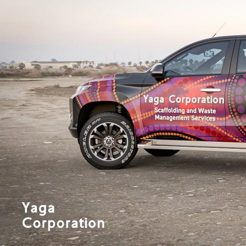 Yaga Corporation Vehicle Wrap