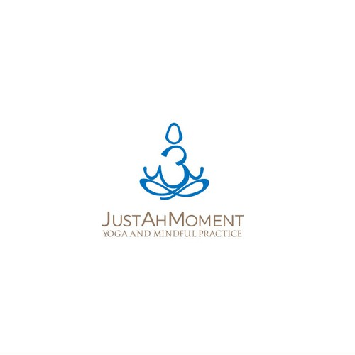 Original logo for meditation place