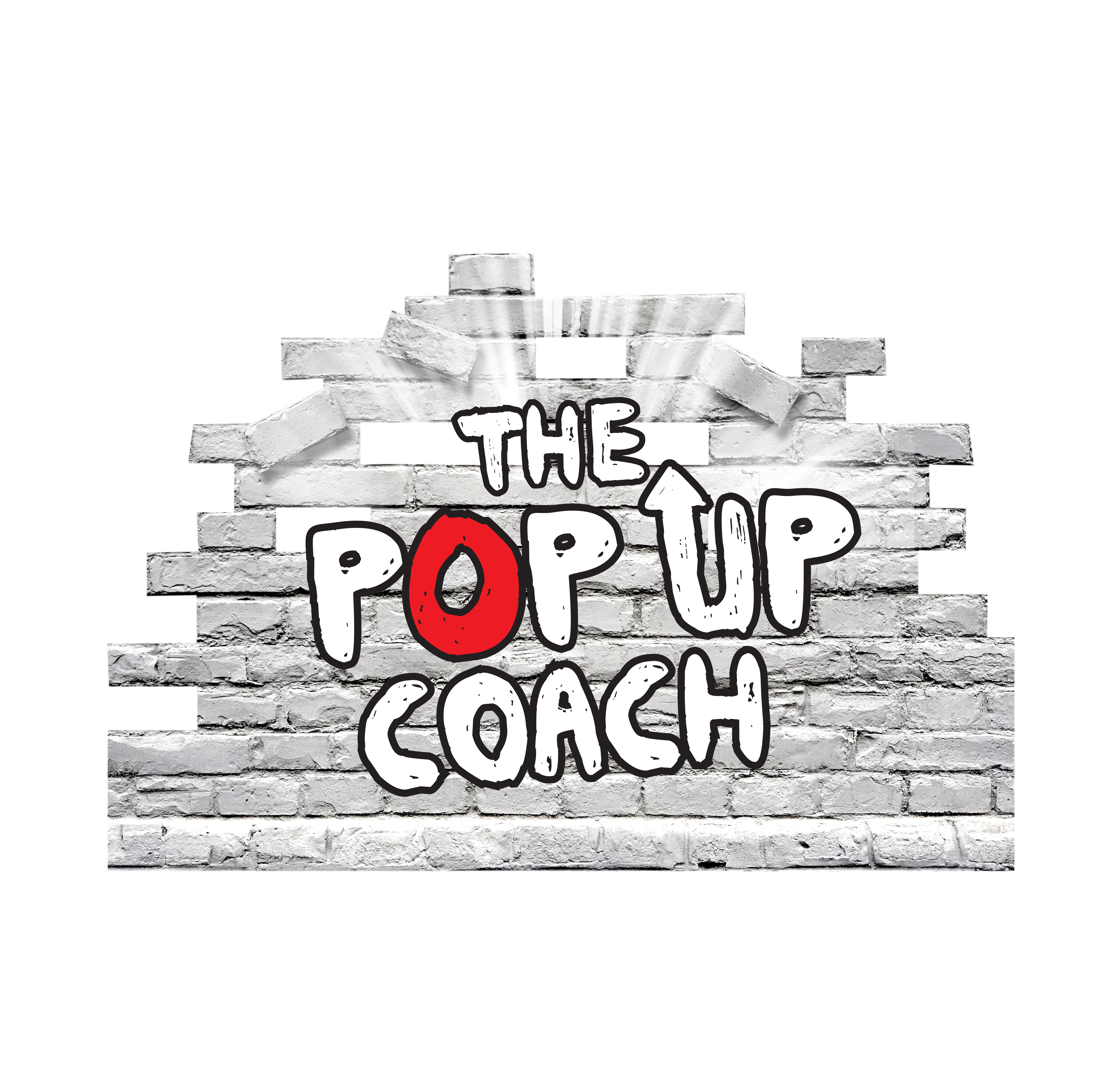 Out of the box artistic logo needed for The PopUp Coach!