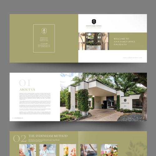 Luxury Healthcare Brochure
