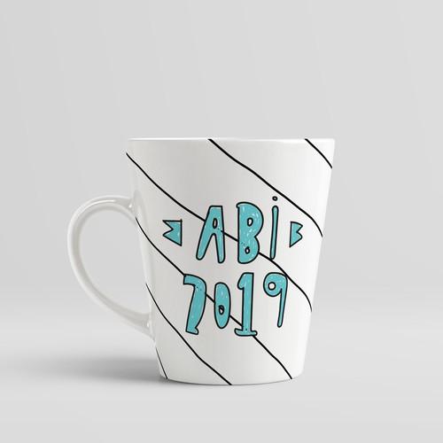 Mug design for a University promotion