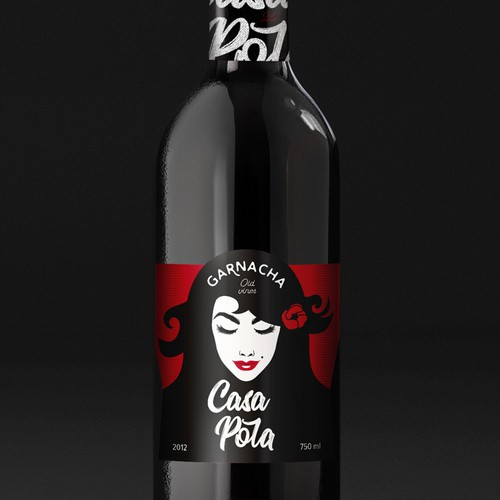 Casa Pola. Packaging for Spanish wine label