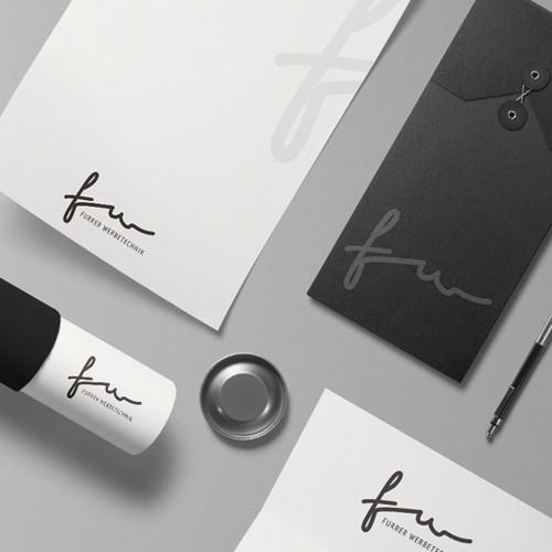 Logo concept for an advertising artist | Furrer Werbetechnik