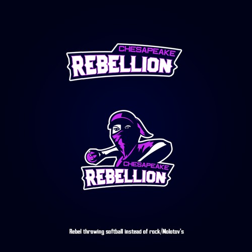 Sports logo rebels