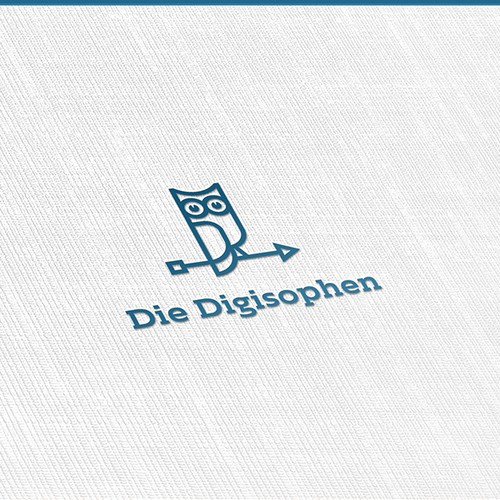 Clean Logo Combining Technology and Philosophy.