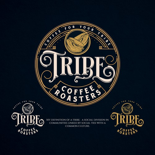 Design Tribe Coffee's look and logo