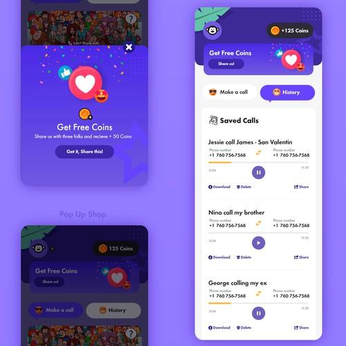 Entry - Mobile app