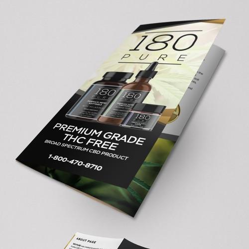 Tri-fold Brochure - 180 Pure