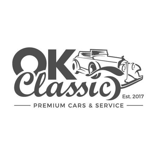 A Bold logo of OK Classic