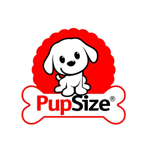 PupSize- Identifier Logo for Small Dog Products & Services