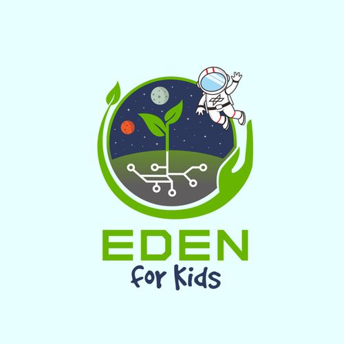 Eden for Kids design logo