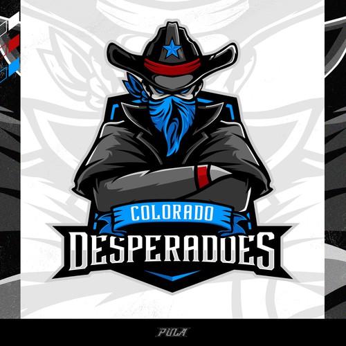 Professional Sports Team Logo for Colorado Desperadoes