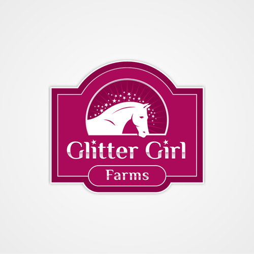 Help Glitter Girl Farms with a new logo