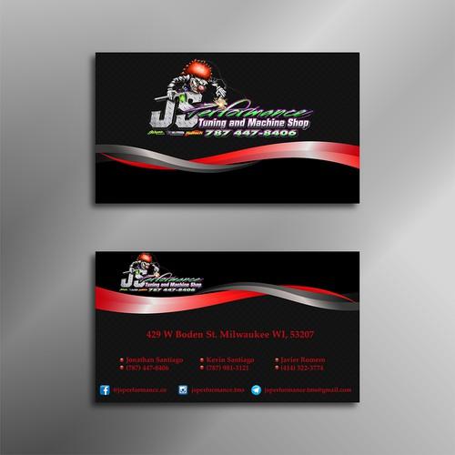 JS Performance Business Card