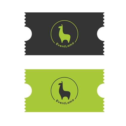 Create a cool logo for EventLama.
