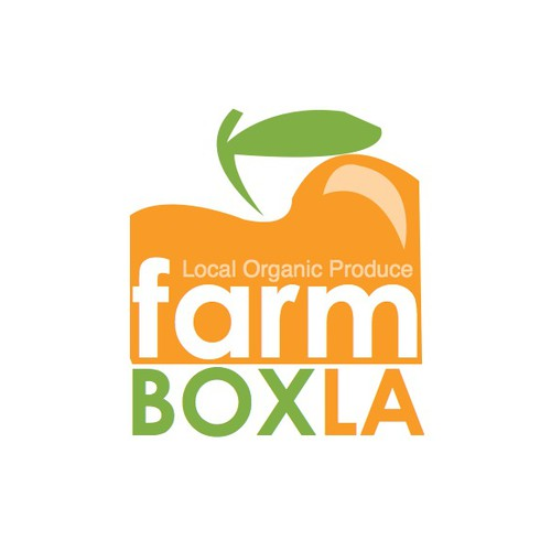Logo for NEW Farm produce delivery service in Los Angeles!