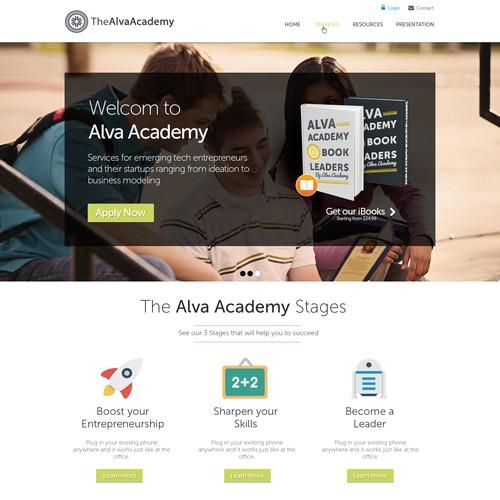 High Tech Accelerator Website