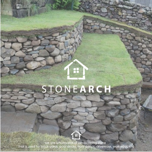 Landscaping stone - STONE ARCH