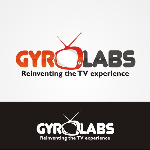 Logo for Gyro Labs - a startup reinventing the TV experience
