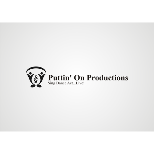 Puttin' On Productions Needs Clean, Clever Logo