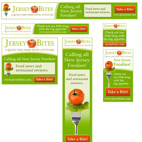 Web ads for Jersey Bites