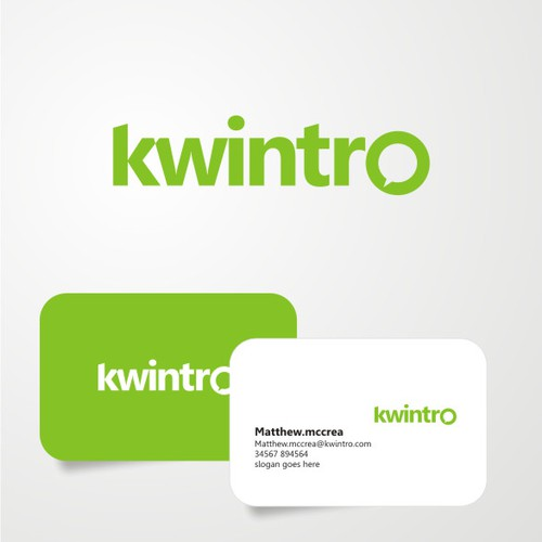 Logo and Business card for kwintro