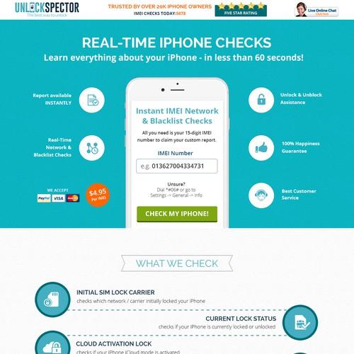 IPHONE Checks Design