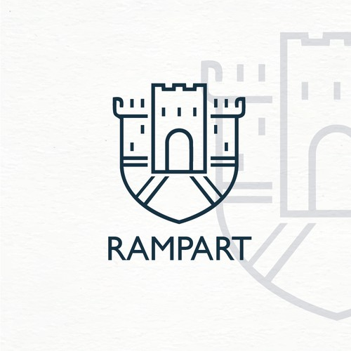 Bold Logo for Armour / Defence Company