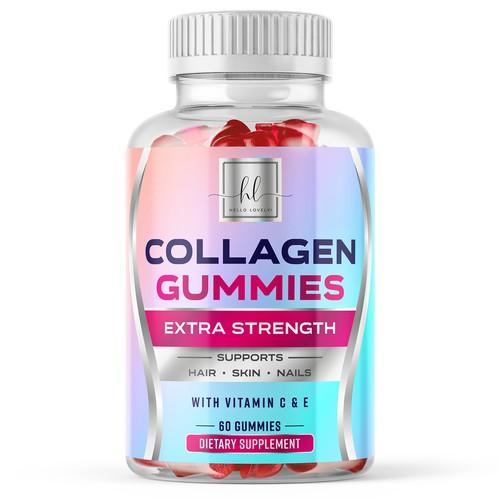 Collagen Gummies product label