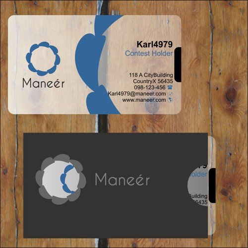New logo for Maneer