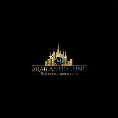 Logo & Web For Arabian Housing