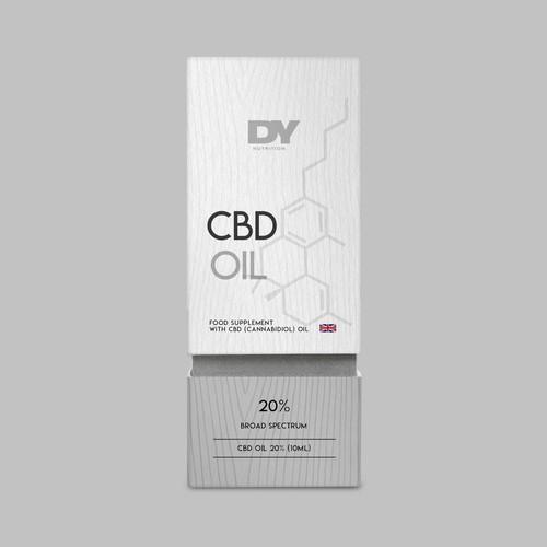 CBD Oil packaging