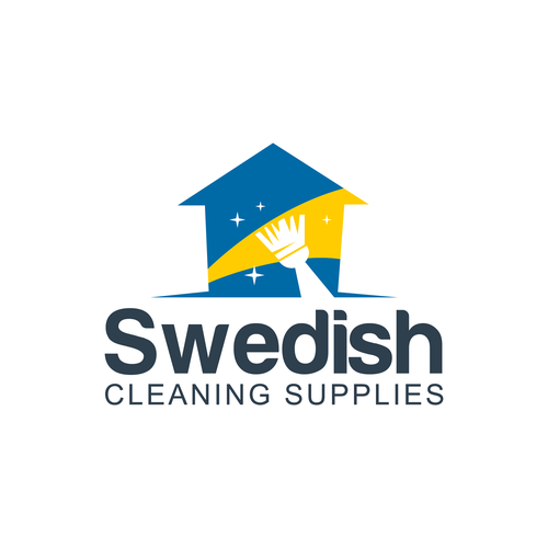 Cleaning logo Concept for Swedish Cleaning Supplies