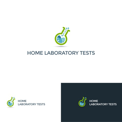 Design a logo for Home Laboratory Tests